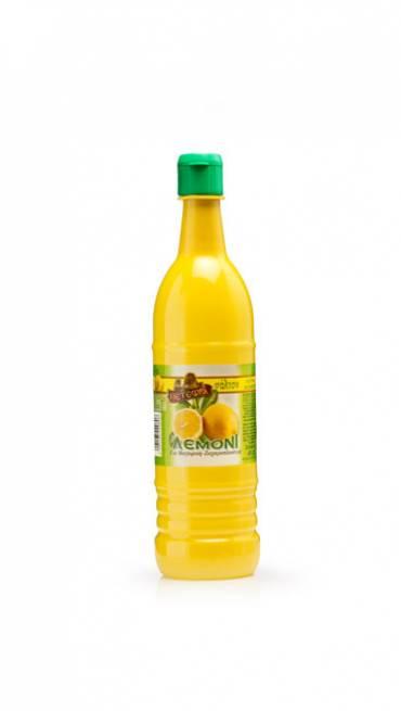 Φυσικός χυμός λεμονιού