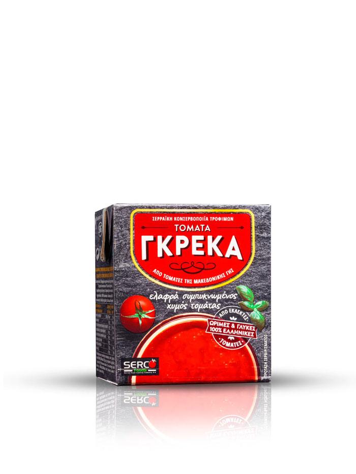 Συμπυκνωμένος Χυμός Τομάτας